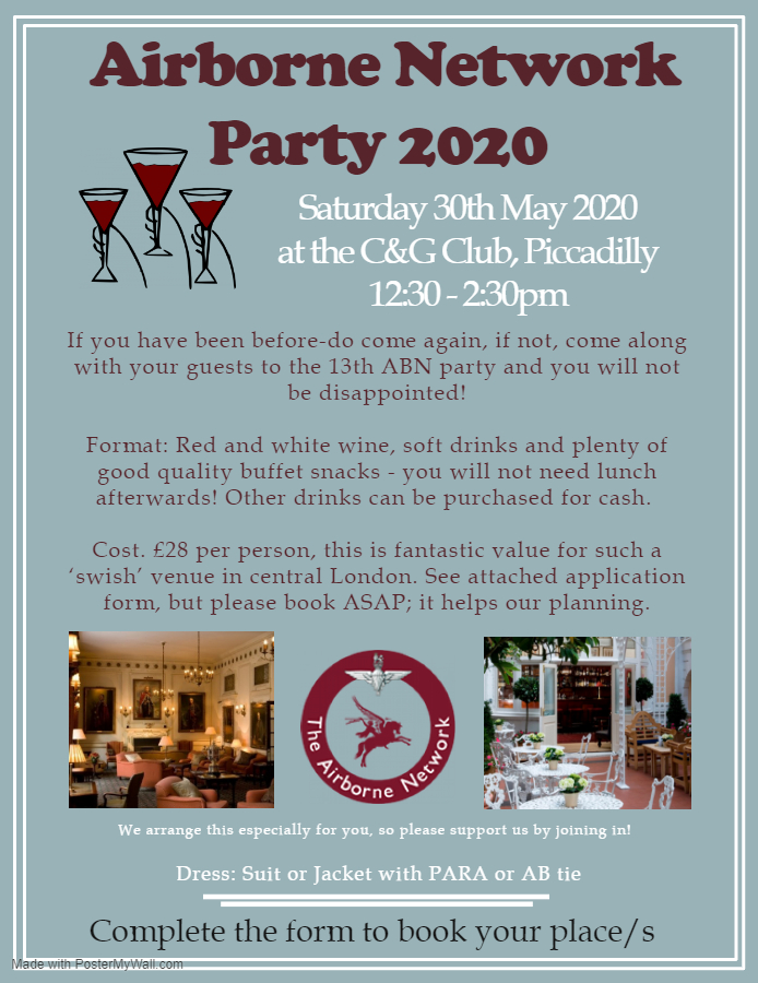 ABN Annual Lunch Time Reception 2020